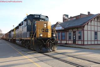 CSXT D768-12 at Elizabeth,PA on February 12,2020