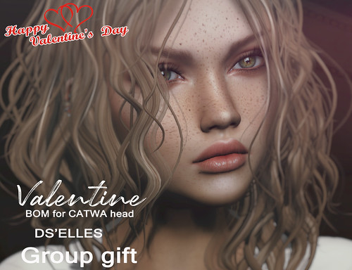 DS'ELLES - Valentine For CATWA head GROUP GIFT