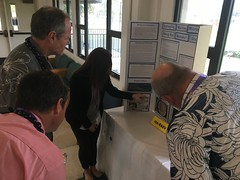 Hawaiian Electric at the 61st annual Maui County Regional Science & Engineering Fair — Feb. 5-6, 2020: Hawaiian Electric employees on Maui were judges for this year's fair.