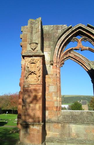 Melrose Abbey Decoration