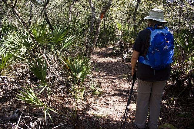Sandra Friend, Florida Trail Chuluota Wilderness