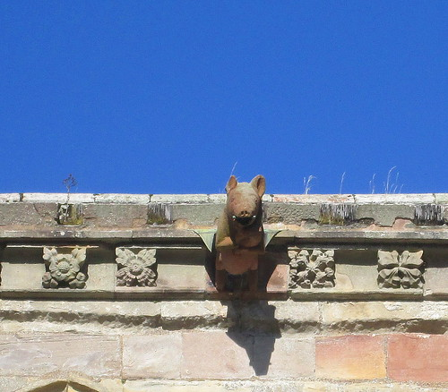 Melrose Abbey, Pig Decoration