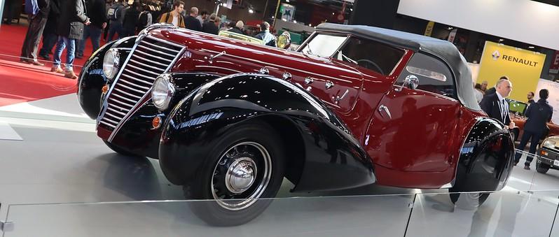 Renault cabriolet Primaquatre S.A.P.A.R. 1939  49532298541_0551f0d91b_c