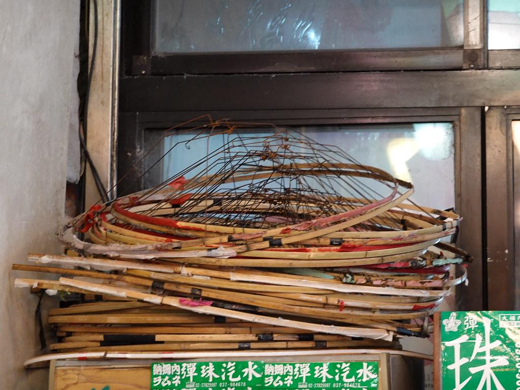 王師傅說,天燈骨架如果沒有損壞可以回收使用十幾次,回收率有八成以上。孫文臨攝