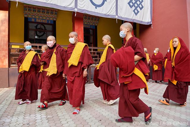 2020.02.13 H.E. Goshir Gyaltsab Rinpoche Presides over the Sixth Arya Kshema Opening Ceremony