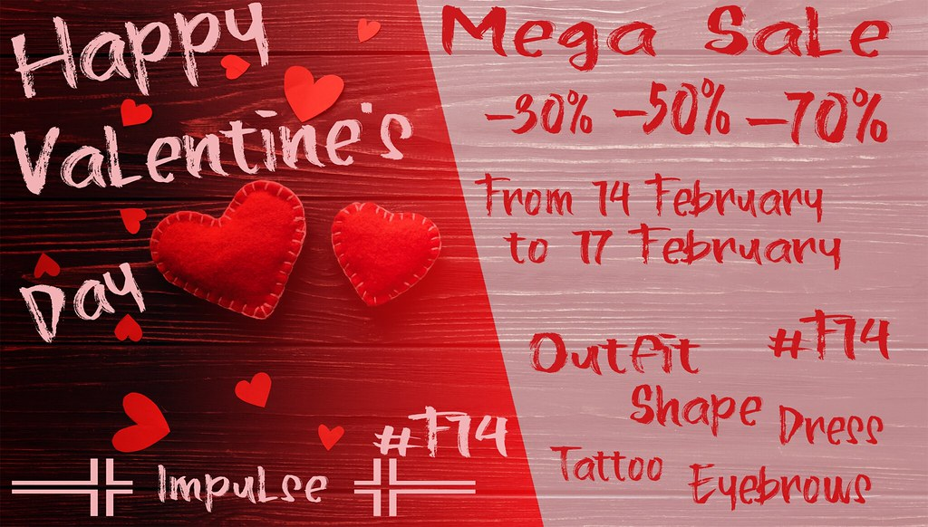 ═╬ Impulse ╬═ Happy Valentine's Day Mega Sale!!! CONTEST!!