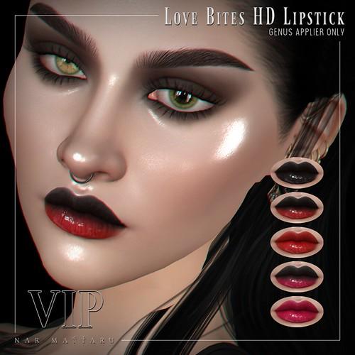<Nar> Love Bites HD Lipstick // GENUS // VIP Group Gift