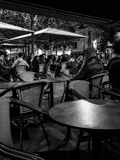 An Evening Drink in Avignon