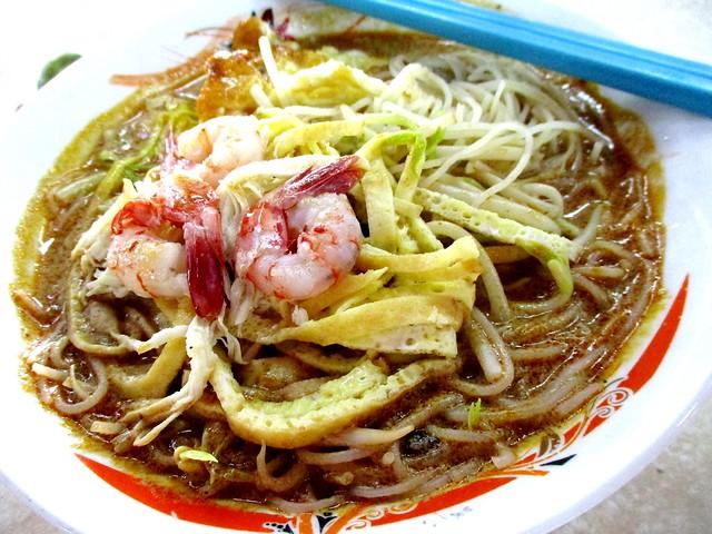 Bateras Food Court Sarawak laksa