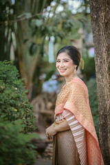Thai dress wedding