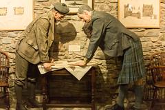 Eilean Donan castle 17 - Reconstruction planning reconstruction