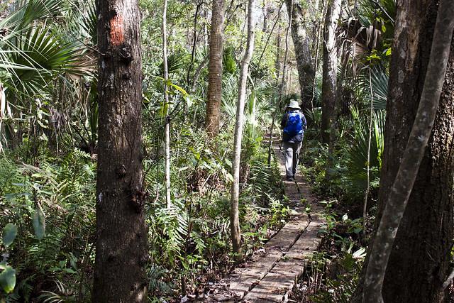 Sandra Friend, Florida Trail
