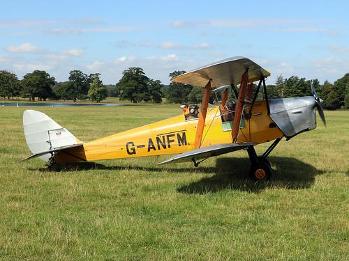 de Havilland Tiger Moth DH.82A G-ANFM Woburn  150825015 3