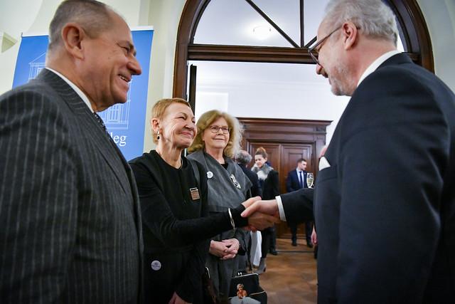 13.02.2020. Valsts prezidenta Egila Levita tikšanās ar sabiedrības pārstāvjiem par Riharda Vāgnera nama atjaunošanas projekta iespējām