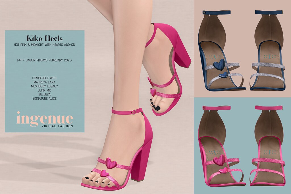 Ingenue :: Kiko Heels for Fifty Linden Fridays