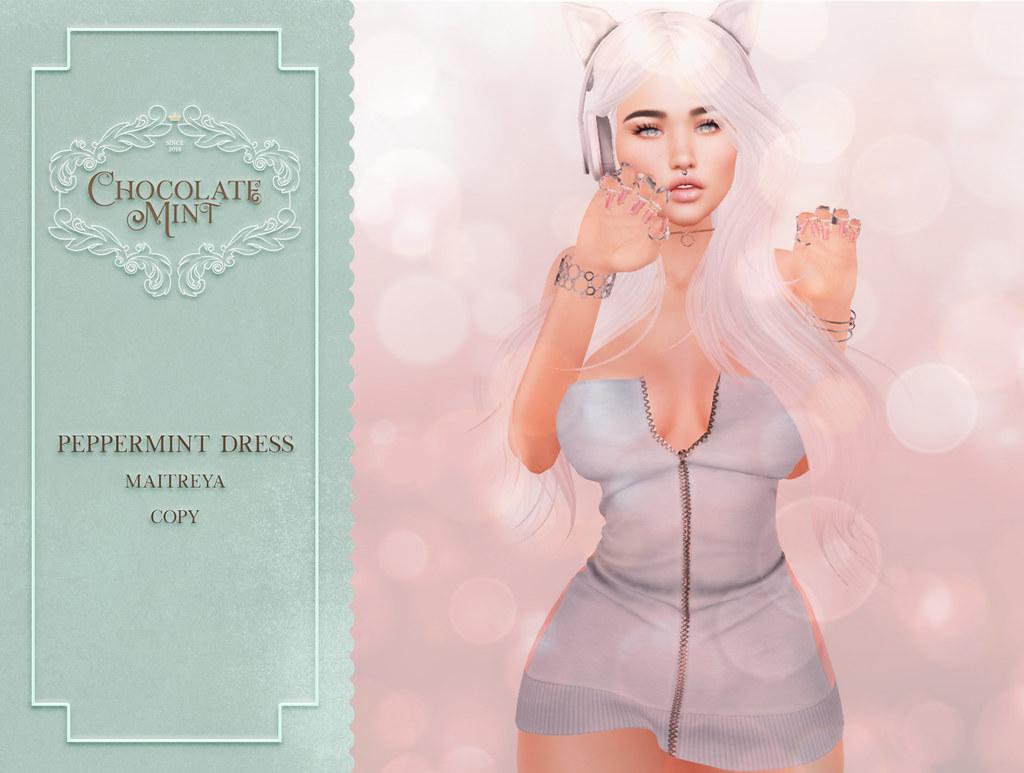 c.M Peppermint Dress