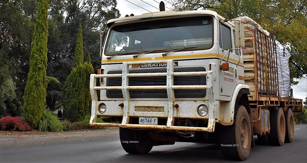 International Truck at Thorpdale