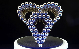 Electric Blue Heart