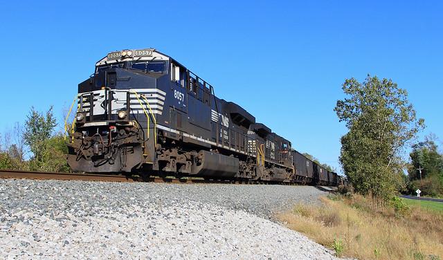 NS 868 coke train west of Stryker
