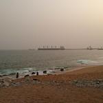 Près du port d'Abidjan à Vridi