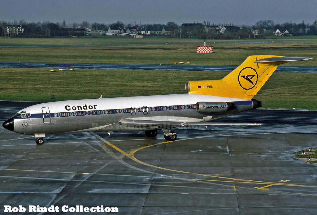 Condor Flugdienst B727-30