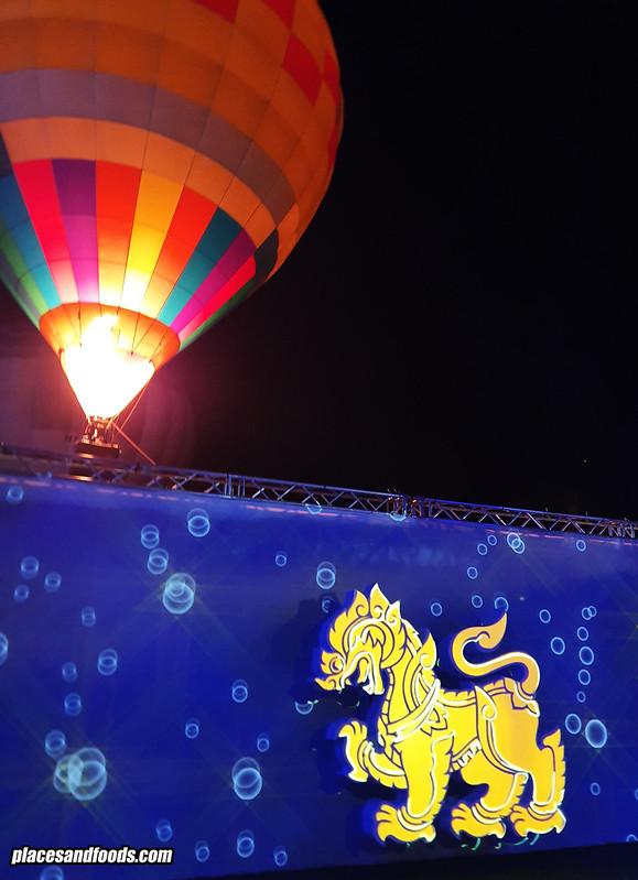 singha park village of illumination balloon fiesta 2020