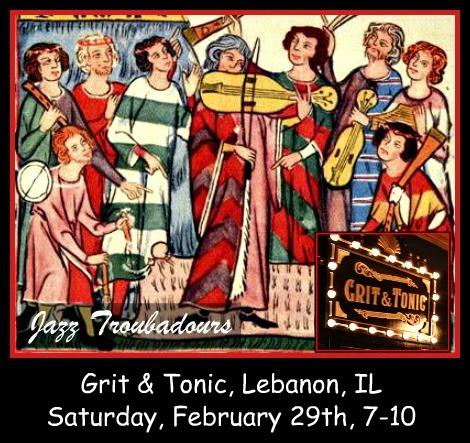 Jazz Troubadours 2-29-20