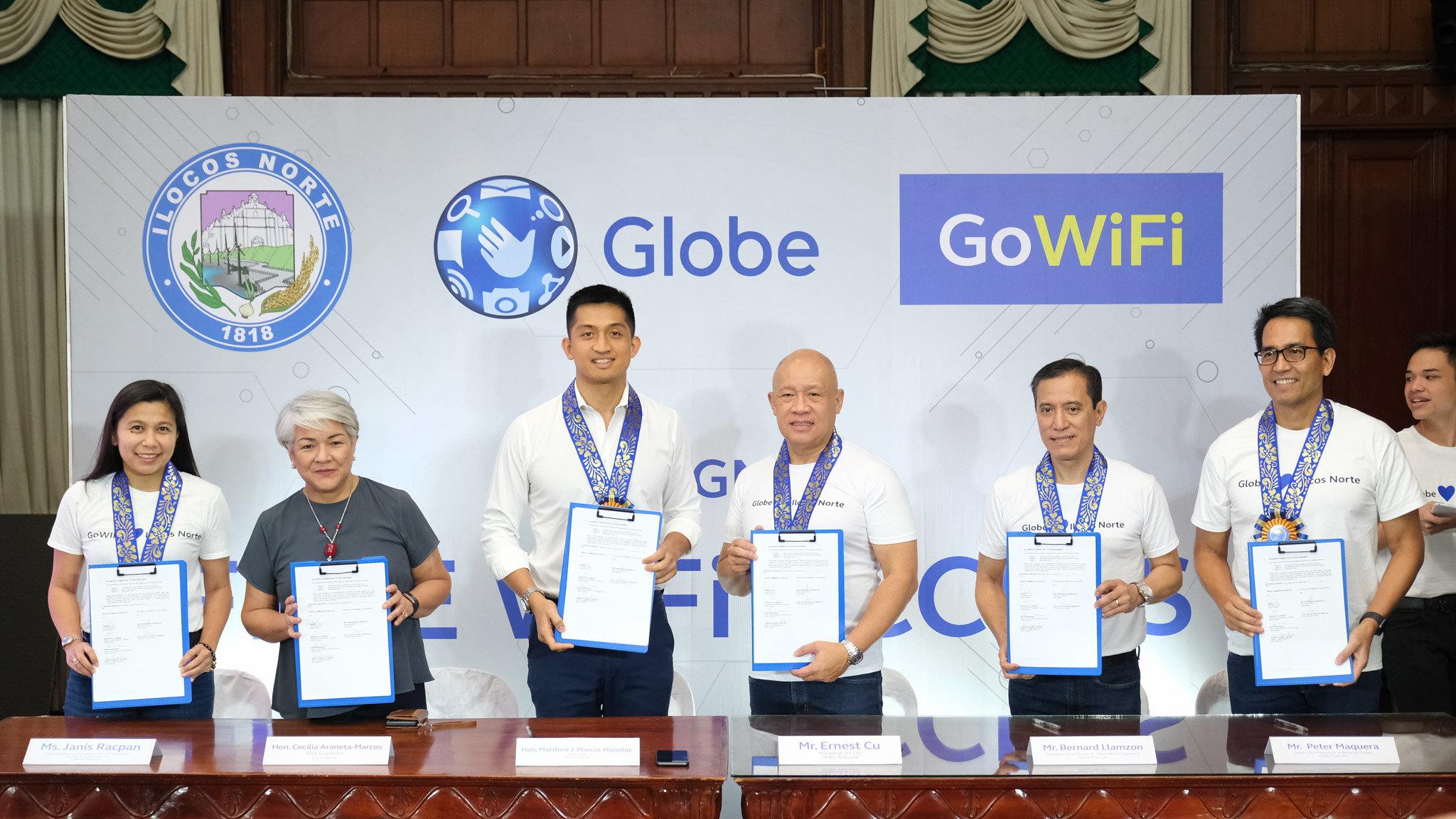 """Ilocos Norte now """"GoWiFi"""" zone"""