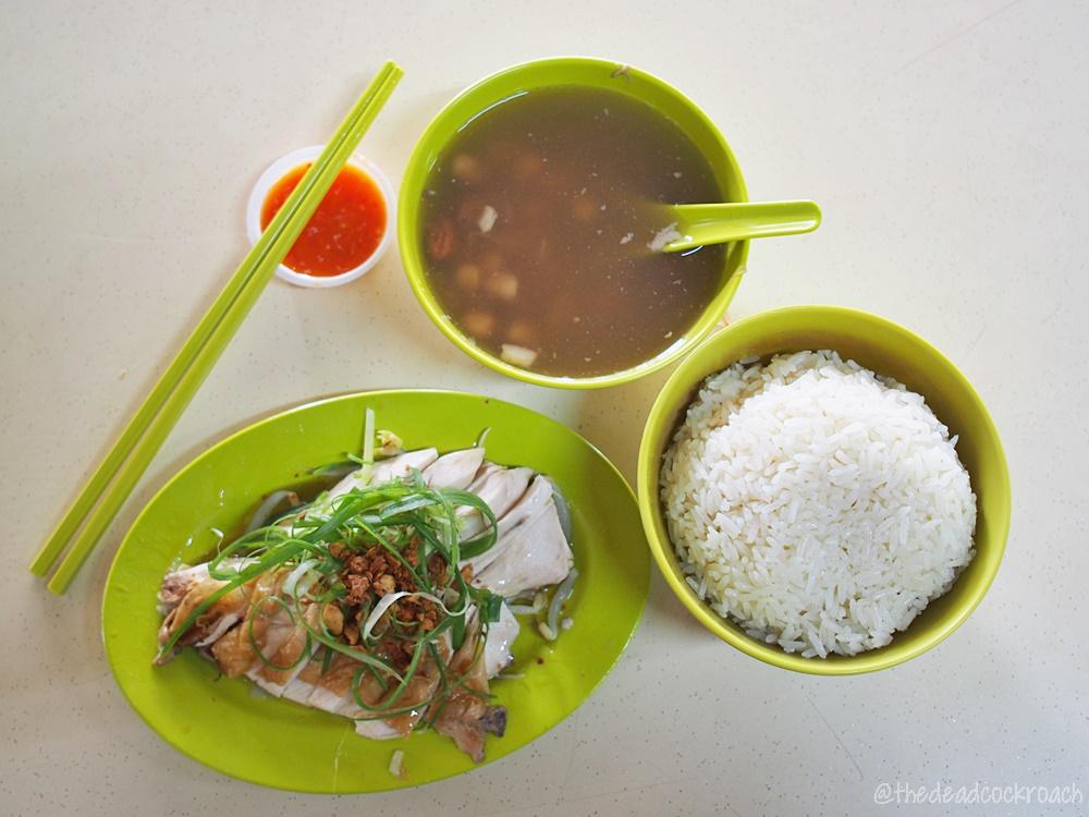 blk 744 yishun street 72, chicken rice, food, food review, qi le chicken rice, review, singapore, yishun, 祺乐起骨鸡饭,
