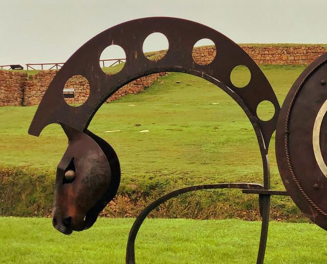 Símbolo del Parque Arueológico de la Campa Torres (Concejo de Gijón)