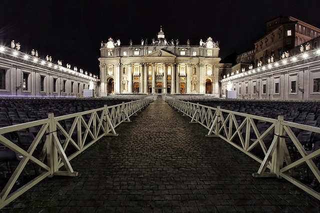 Piazza San Pietro. Città del Vaticano