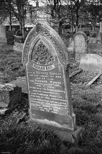 Sarah Ann, Becket St. Cemetery Leeds | by Settle Snapper
