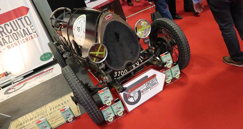 Bugatti Brescia ( Bugatti Club Italia ) -  Retromobile Paris 2020 49533500533_62dd5ffe43_c