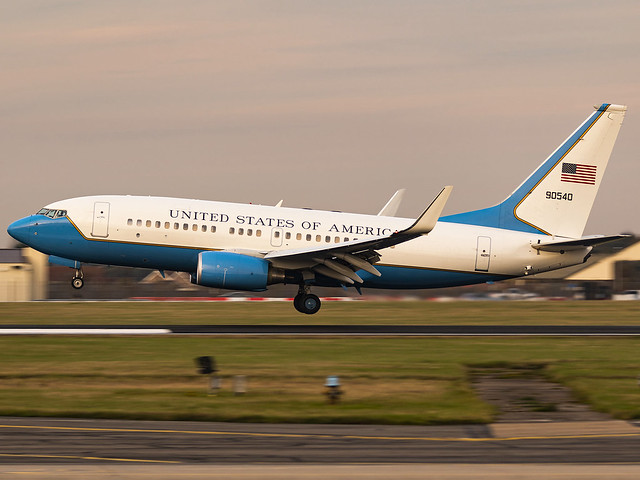 United States Air Force | Boeing C-40C | 09-0540