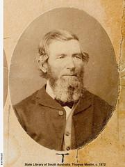 Thomas Maslin, c. 1872.