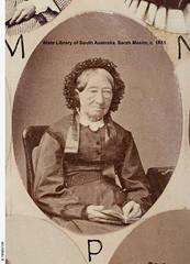 Sarah Maslin, c. 1881.