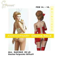 S&P Anniversary GACHA SALE