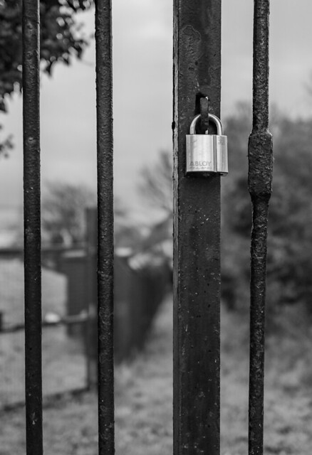 locked and barred