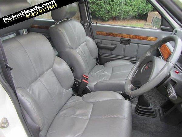 Metro Leather seats