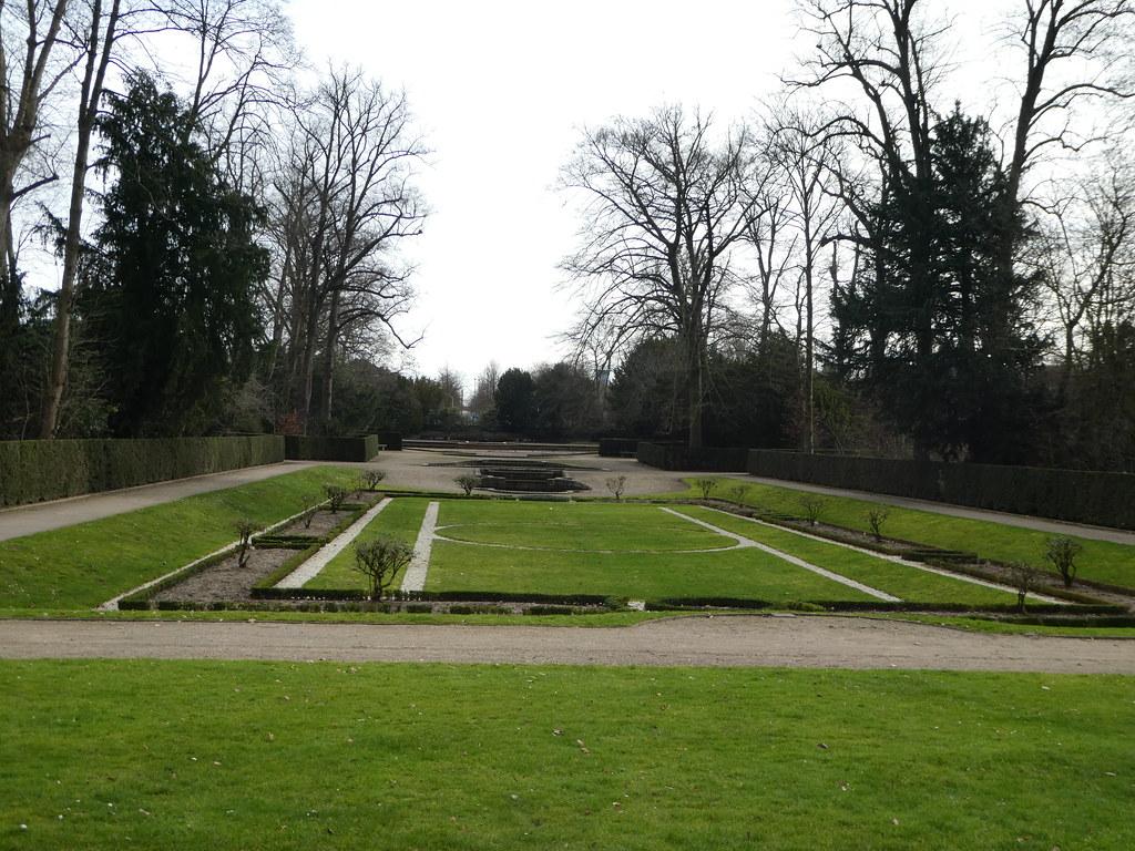 Gardens, Benrath Palace, Dusseldorf