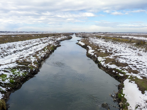 landscape ilfov românia river outdoor dâmbovița nature water winter snow