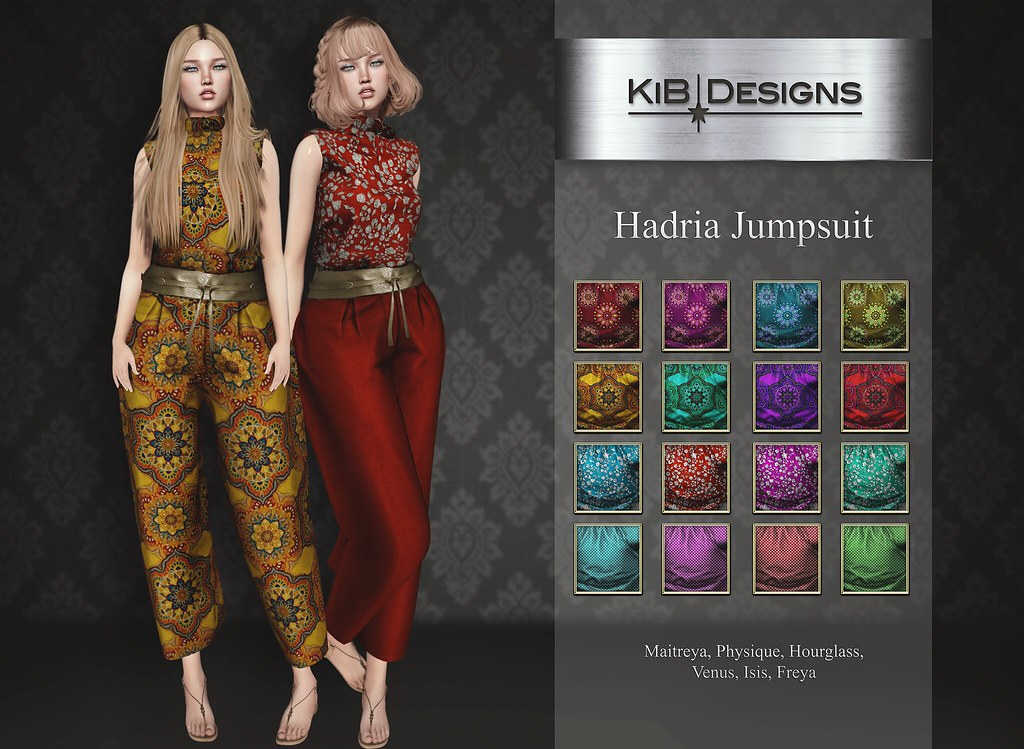 KiB Designs – Handria Jumpsuit @Sense Event