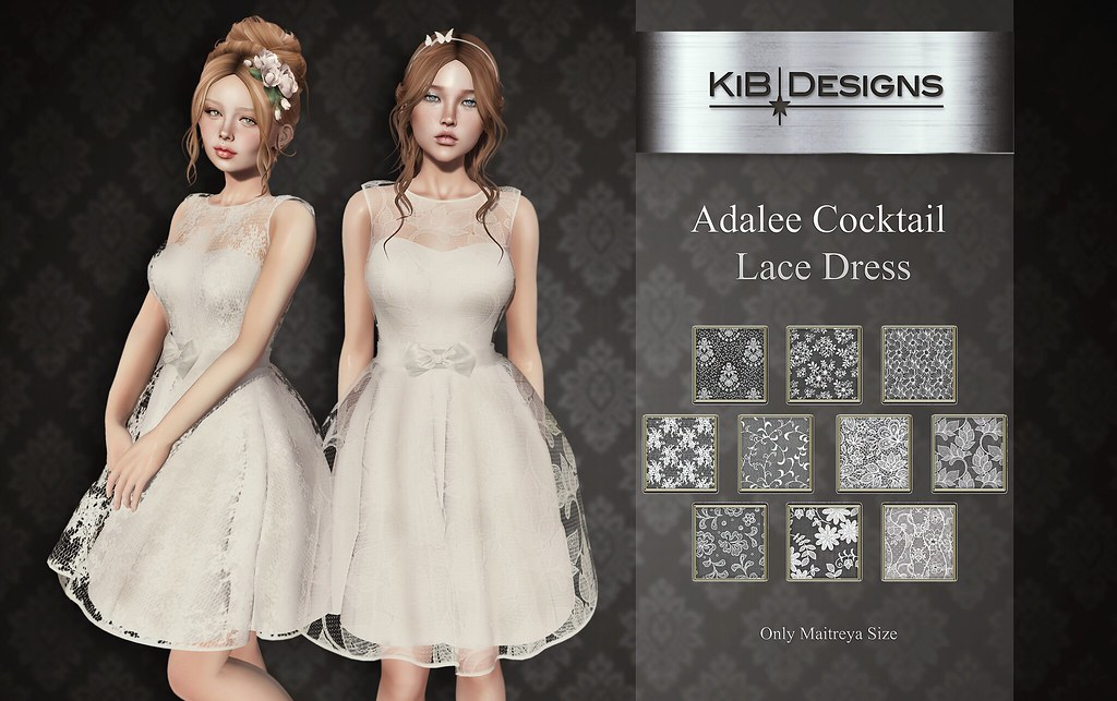 KiB Designs – Adalee Cocktail Lace Dress @Trunk Show