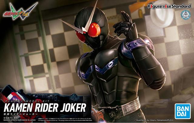 看來最後的王牌...總會來到我身邊...!Figure-rise Standard《假面騎士W》假面騎士JOKER(仮面ライダージョーカー)組裝模型【PB限定】