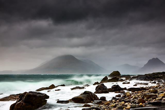 Storm Ciara hits Skye