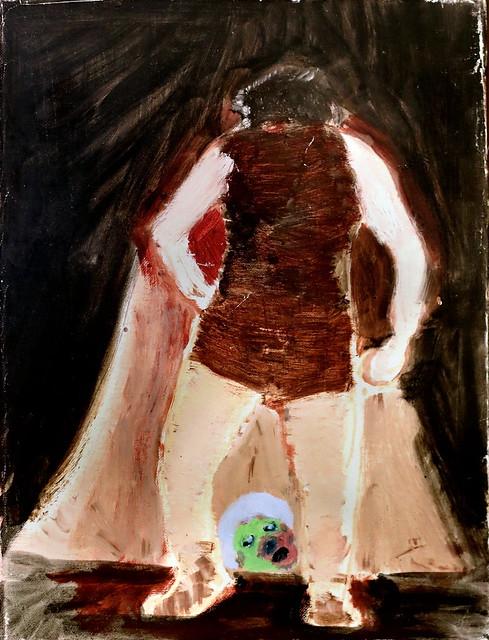 IMG_4084 Daniel Richter 1962  Deutschland  Untitled 2004  Augsburg  Glaspalast Kunstmuseum Walter.  40x30