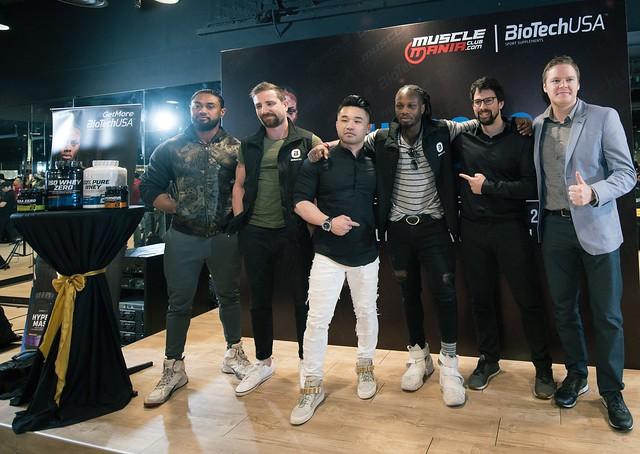 MuscleManiaClub Melancarkan Jenama Terkenal Suplemen Kecergasan BioTechUSA