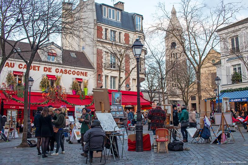 Cosa vedere a Parigi: Place du Tertre