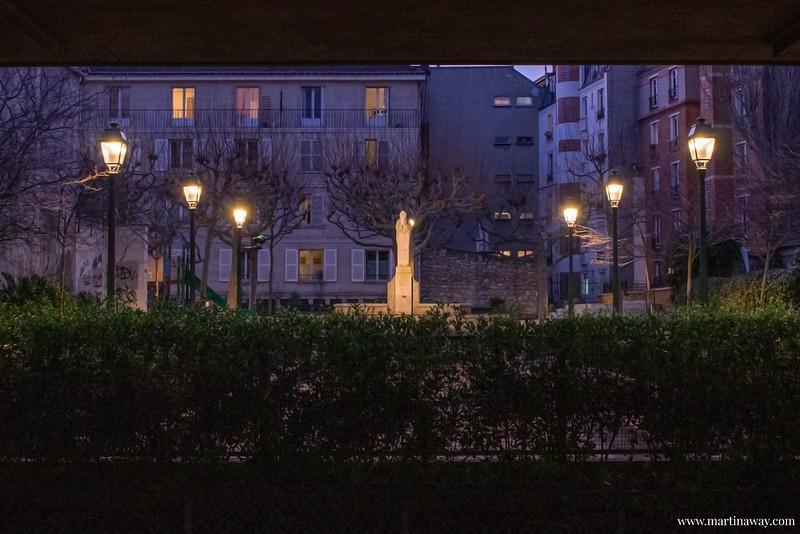 Fontana di Sant Denis, leggende di Parigi