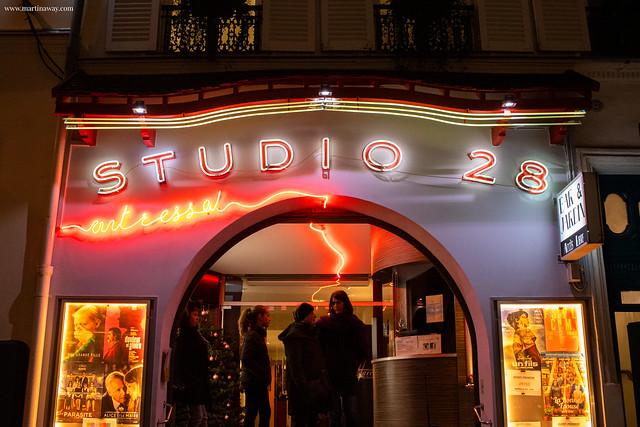 Studio 28: curiosità su Montmartre